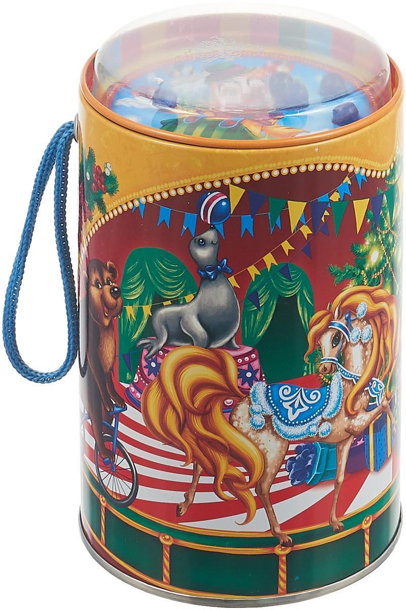 Фото - Банка-игра подарочная Яркий Праздник Новогодний цирк, 10 х 10 х 14,5 см дарья воробьева нина дьячкова игра в цирк playing the circus