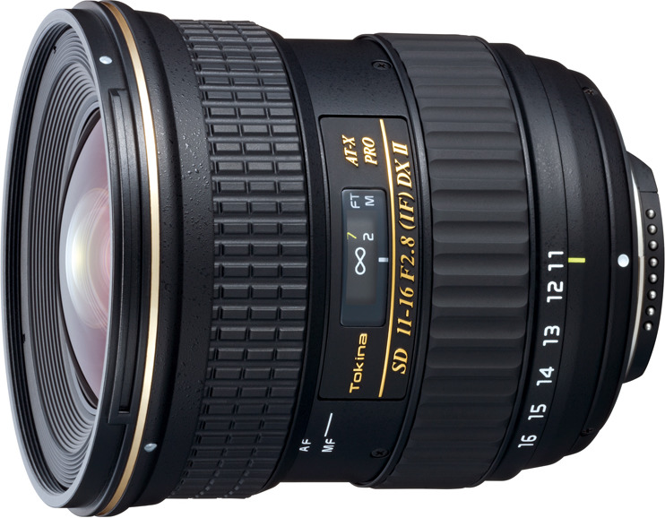 Объектив Tokina AT-X 11-16mm 116 F2.8 Pro DX II N/AF-D для Nikon