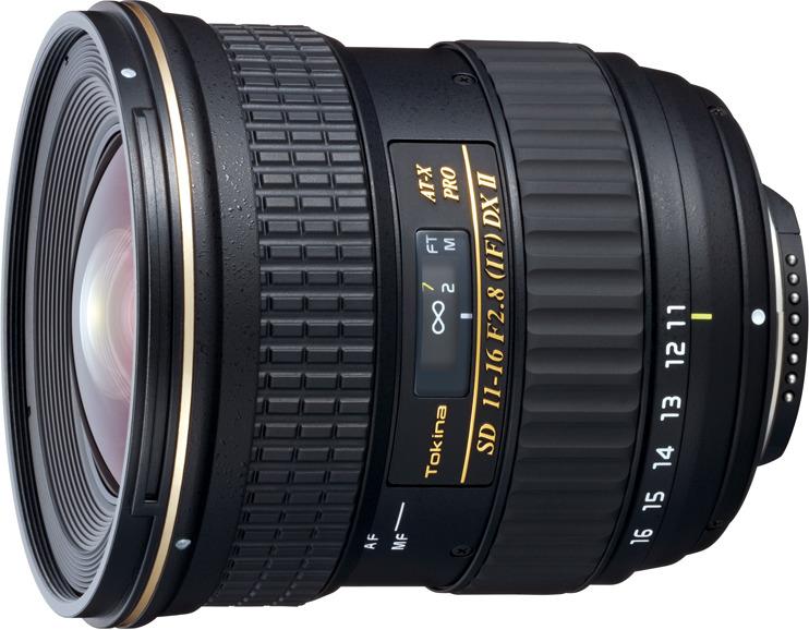 Объектив Tokina AT-X 11-16mm 116 F2.8 Pro DX II S/AF для Sony, Black