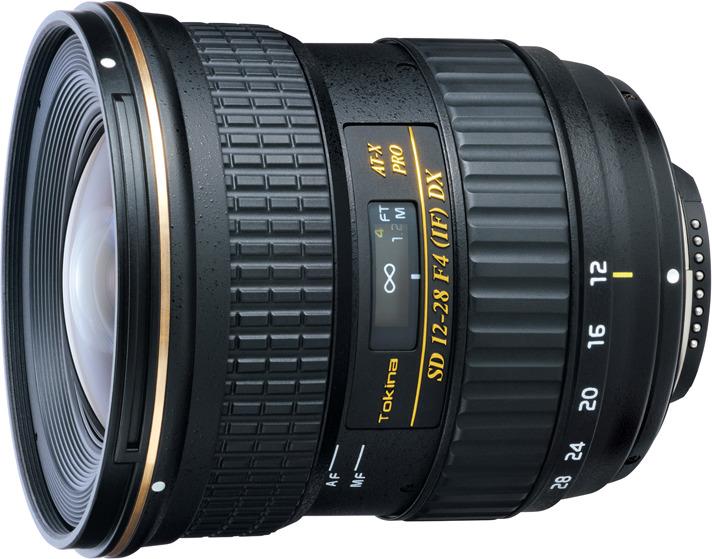 Объектив Tokina AT-X 12-28mm 128 F4 Pro DX C/AF для Canon, Black объектив для зеркального фотоаппарата canon tokina at x 11 20 f2 8 pro dx c af