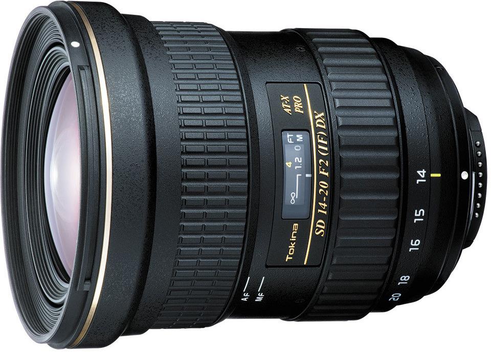 Объектив Tokina AT-X 14-20mm F2.0 Pro DX N/AF для Nikon, Black объектив для зеркального фотоаппарата canon tokina at x 11 20 f2 8 pro dx c af
