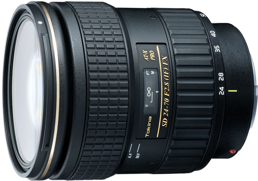Объектив Tokina AT-X 24-70mm F2.8 Pro FX N/AF для Nikon, Black