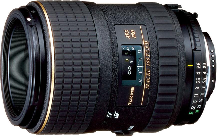 Объектив Tokina AT-X 100mm M100 F2.8 D Macro N/AF-D для Nikon