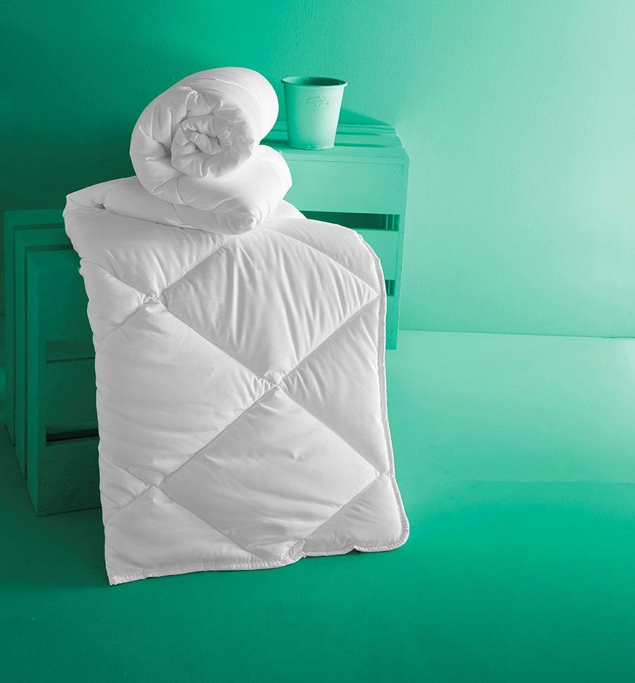 Одеяло Karna Aloevera, 3174, белый, 155 х 215 см