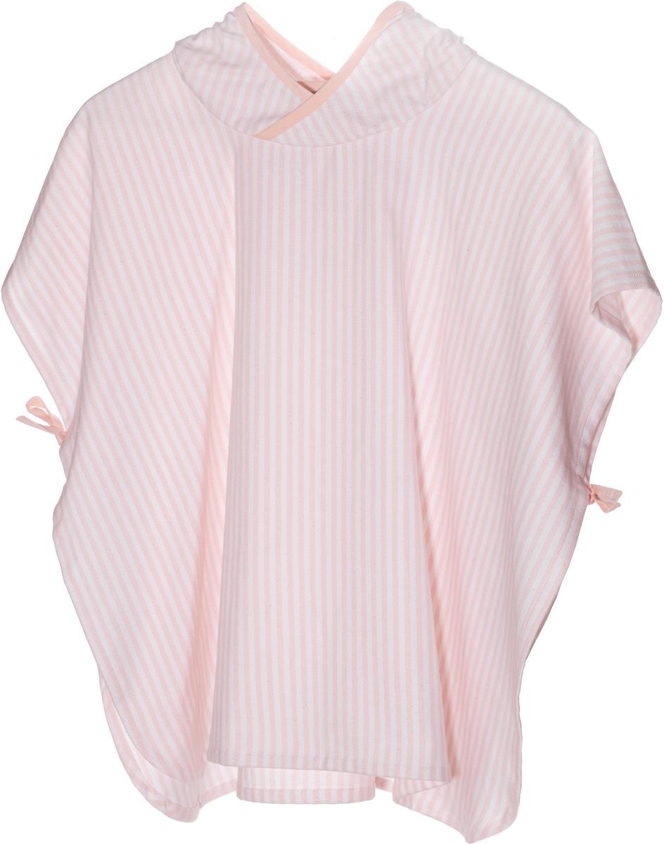 Полотенце детское KipKep Blenker Poncho, 467, с капюшоном, розовый, 68 х 55 см пончо olaian детское пляжное пончо sweet рост 125–150 см