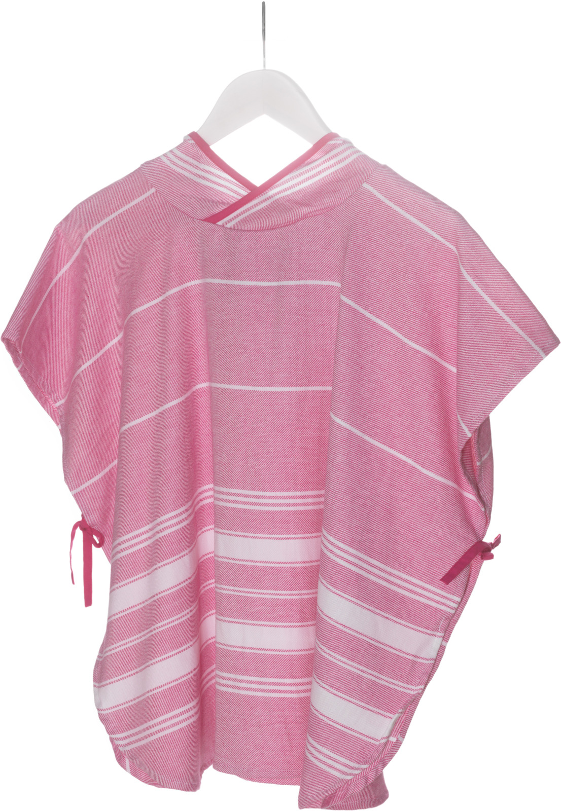 Полотенце детское KipKep Blenker Poncho, 290, с капюшоном, розовый, 68 х 55 см пончо olaian детское пляжное пончо sweet рост 125–150 см