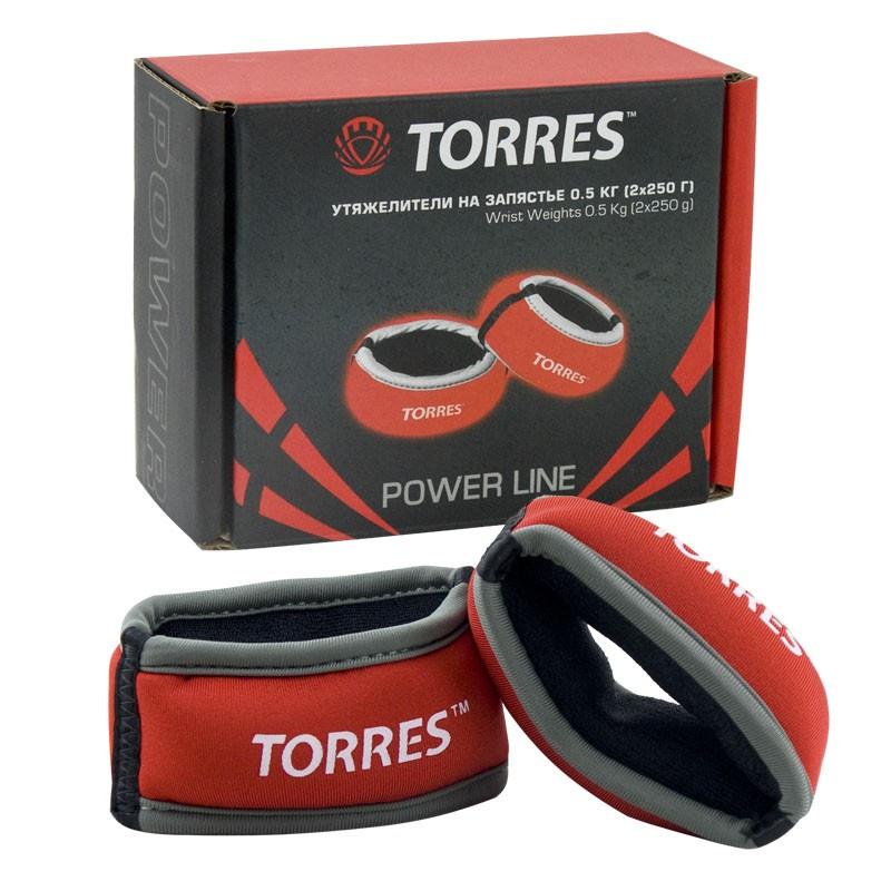 цена на Утяжелители на запястье Torres PL607605, красный