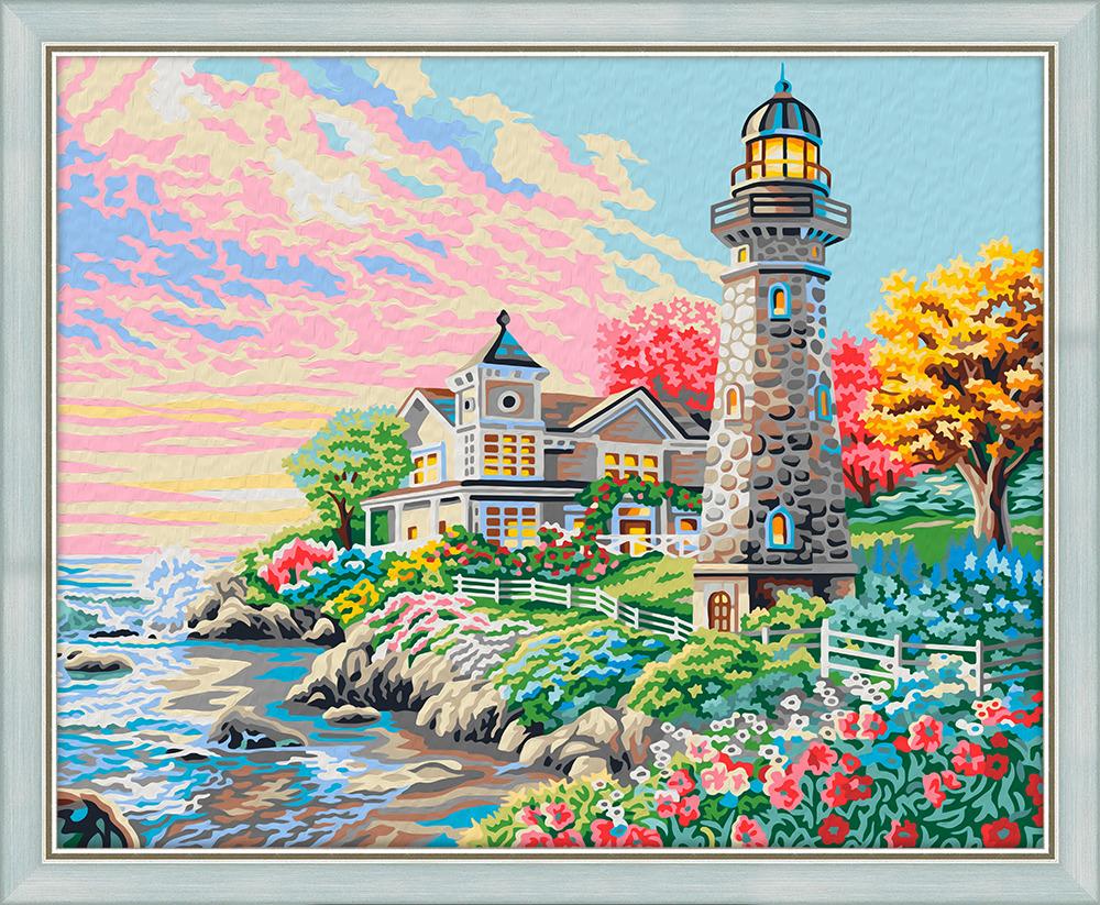 Набор для рисования по номерам Мосфа Утром на побережье, 40 х 50 см7С-0038Теперь каждый может почувствовать себя художником и украсить интерьер стильной картиной собственного исполнения. В комплекте вы найдете все необходимое для работы! Все схемы для картин отрисованы художниками вручную, их легко и приятно раскрашивать. - Цифры на схеме напечатаны в цвет краски, что позволяет легче ориентироваться в работе. Но главное,Вы потратите меньше сил и краски, чтобы закрасить символ. - В наборах использованы только безопасные краски, соответствующие международному стандарту ISO 14001. Состав набора: 1) Белый грунтованный холст размером 40х50 см на деревянном подрамнике с нанесенной контурной схемой с цветными цифрами. 2) Инструкция с контрольной схемой для сверки, цветным примером и полезными советами по работе с набором. 3) Набор кисточек разного размера с деревянной ручкой.4) Яркие акриловые краски,упакованные в герметичные вакуумные пакетики. Также в комплекте поставляется лак для финишного покрытия. 5) Баночки для удобства работы с красками.