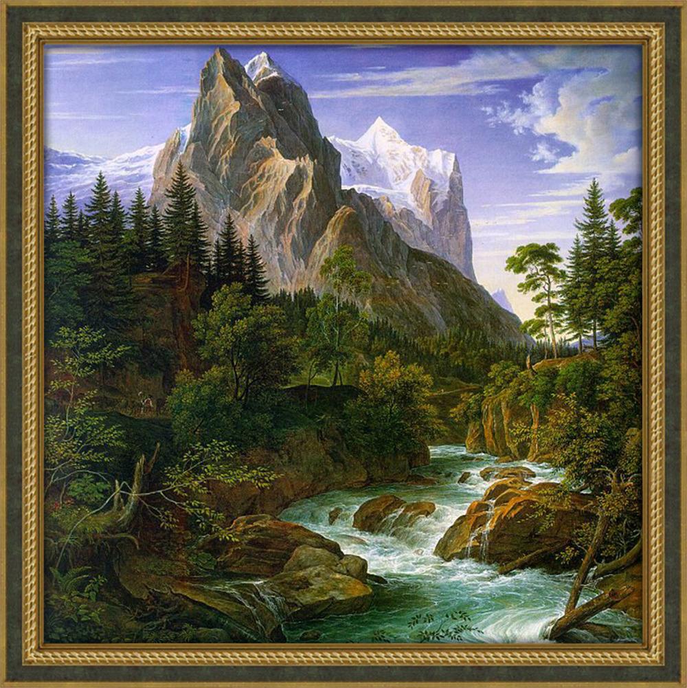 стать горы и лес картина что при порыве