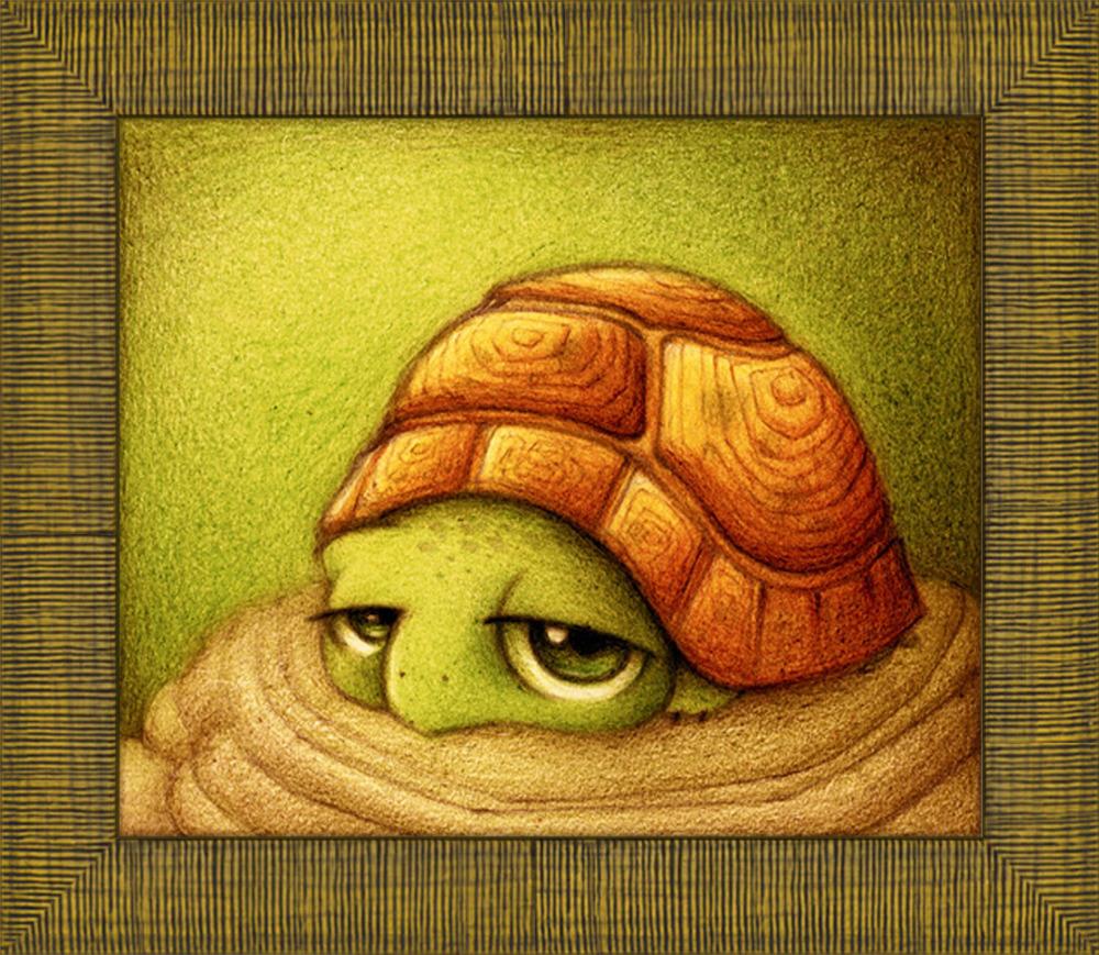 Картинки для срисовки черепашка