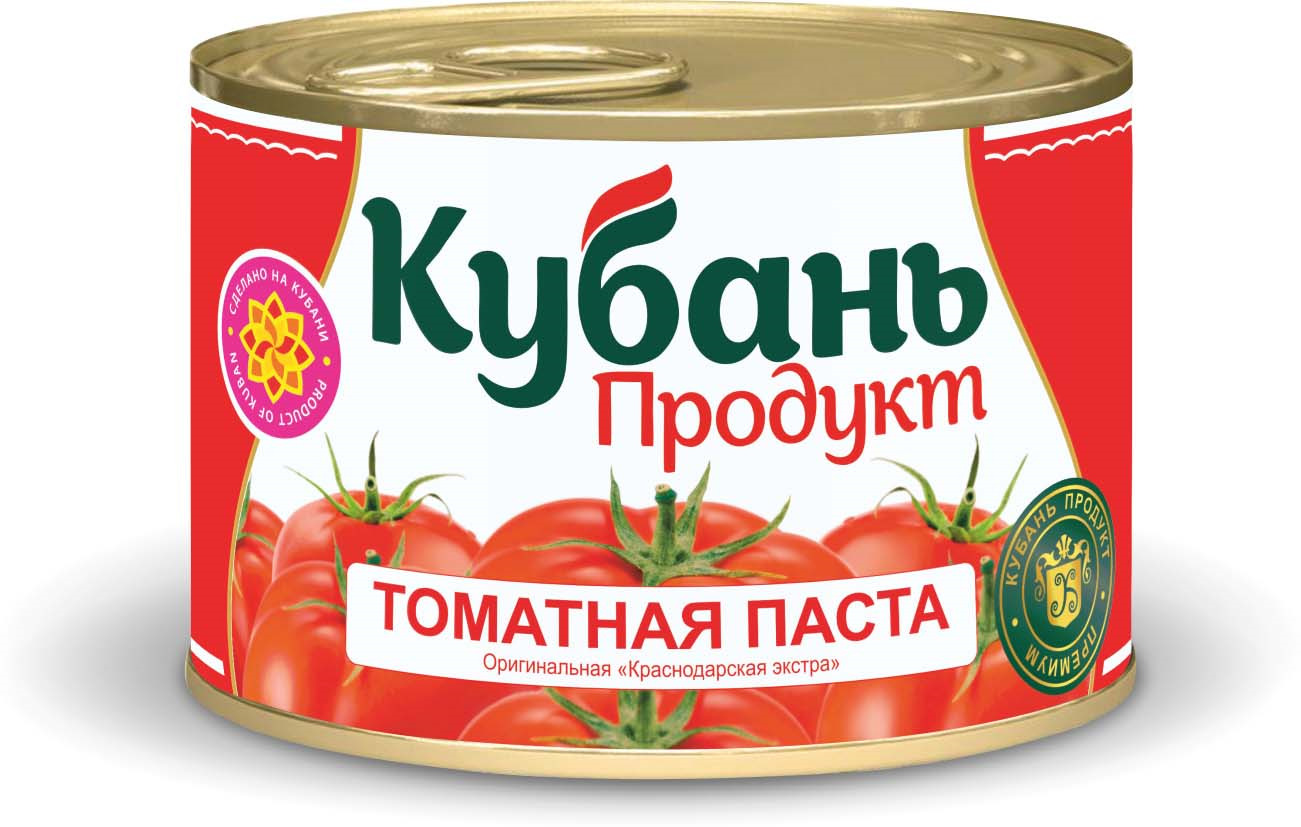 Кубань Продукт паста томатная, 70 г кубань продукт компот вишневый 1 л