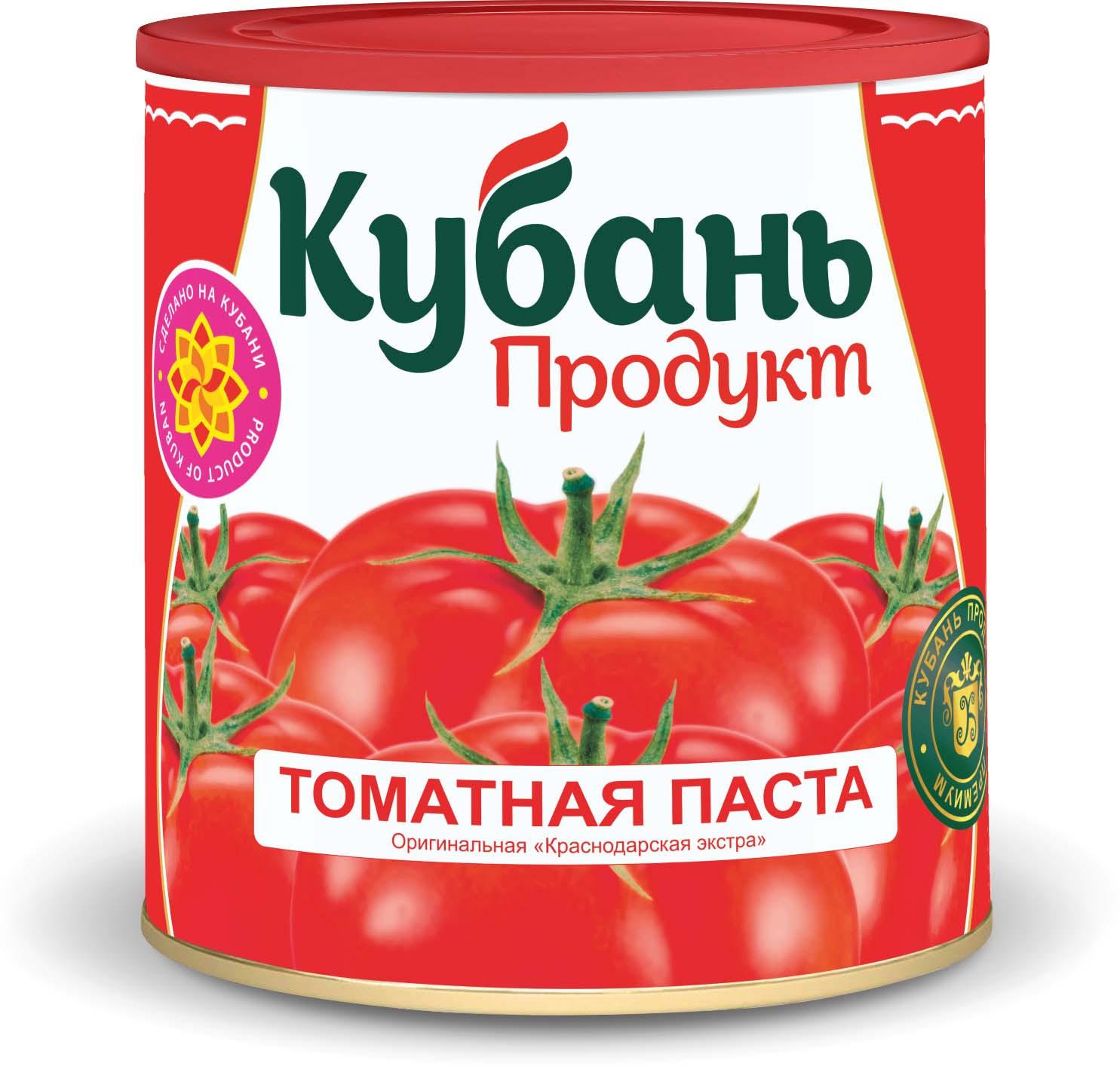 Кубань Продукт паста томатная, 770 г кубань продукт компот вишневый 1 л