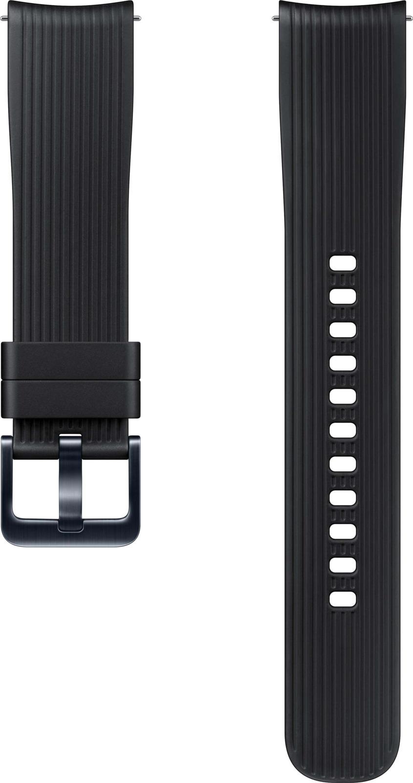 Ремешок для смарт-часов Samsung для Galaxy Watch 42мм/Gear Sport, черный ремешок samsung для samsung galaxy watch 46мм samsung gear sport серый