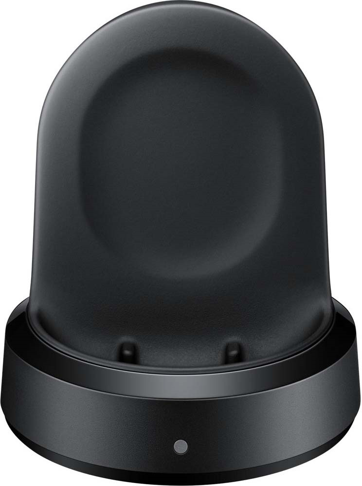 Зарядная база Samsung GalaxyWatch, EP-YO805, black зарядная станция с 2 я аккумуляторами black horns для геймпадов xbox one