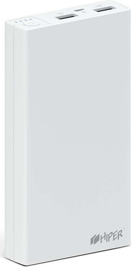 Внешний аккумулятор HIPER RP15000, 15000 мАч, white внутренний аккумулятор 15000 мач hiper rp15000 белый