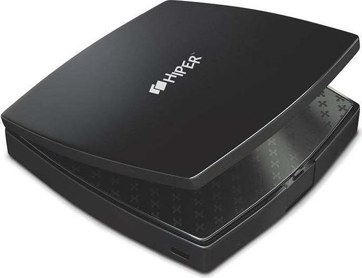 Фото - Внешний аккумулятор HIPER MIRROR-4000, 4000 мАч, black аккумулятор hiper внешний аккумулятор hiper mirror 4000 black
