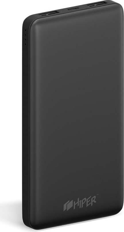 Внешний аккумулятор HIPER ST10000, 10000 мАч, черный внешний аккумулятор hiper st10000 10000mah черный