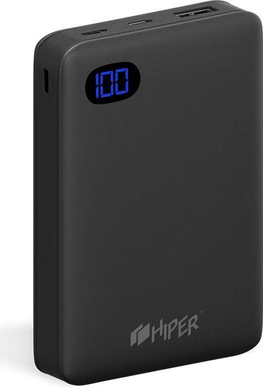 Внешний аккумулятор HIPER SN10000, 10000 мАч, черный мобильный телефон hiper sphone card black p 01blk