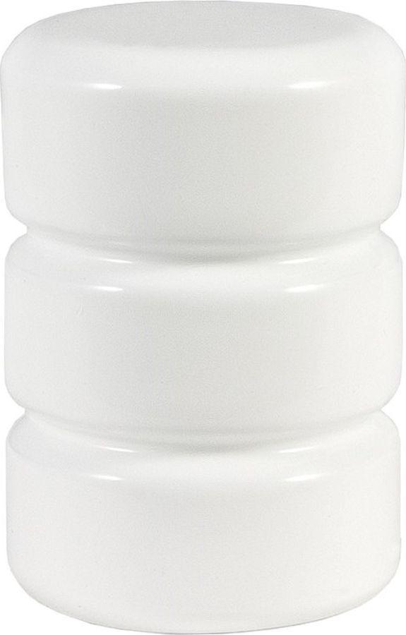 Наконечник для карниза Уют Цилиндр-2 26.21ТО.0204, белый, диаметр 25 см, 2 шт наконечник для карниза уют цилиндр 2 26 21то 0221 шампань диаметр 25 см 2 шт