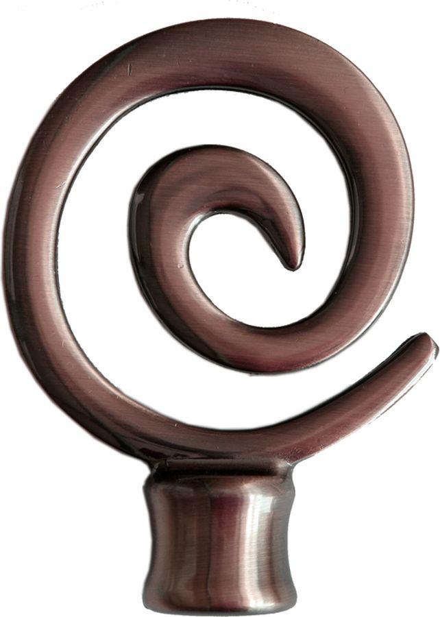 Наконечник для карниза Уют Флексо 22.21ТО.2802, шоколад, диаметр 20 см, 2 шт22.21ТО.2802Форма наконечников может отличаться изысканностью и стать дополнительным украшением окна. Самым популярным вариантом остается круглый наконечник, но можно приобрести изделия с завитками, с цветочным мотивом, в виде веера, пики или ромба.