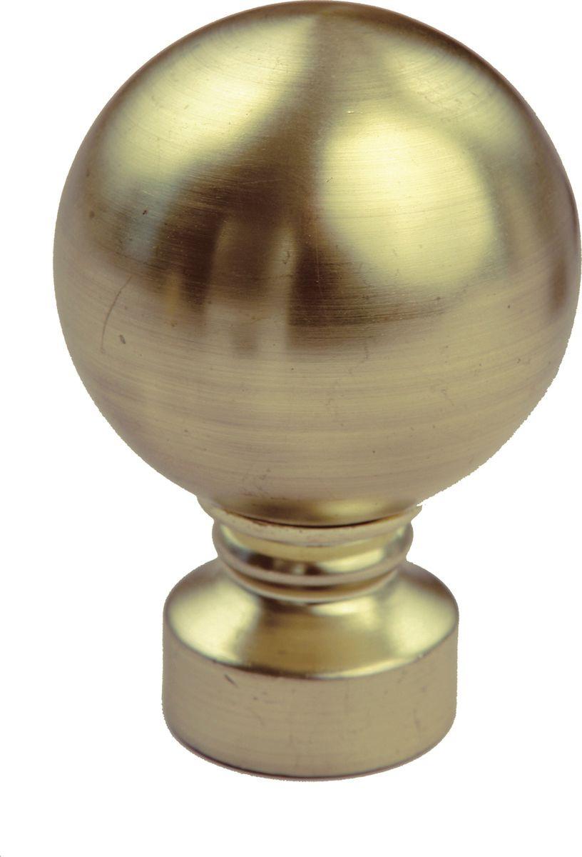 "Наконечник для карниза Уют ""Шар"" 26.21ТО.0770, бронза, диаметр 25 см, 2 шт"