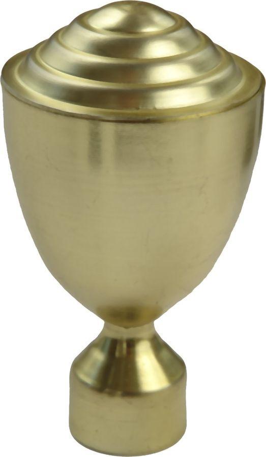 """Наконечник для карниза Уют """"Стэнли"""" 26.21ТО.2000, латунь, диаметр 25 см, 2 шт"""