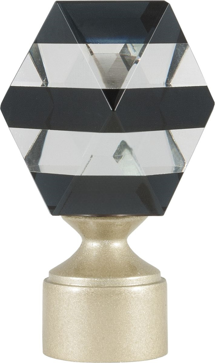 Наконечник для карниза Уют Карамель 26.21ТО.3421, шампань, диаметр 25 см, 2 шт наконечник для карниза уют цилиндр 2 26 21то 0221 шампань диаметр 25 см 2 шт