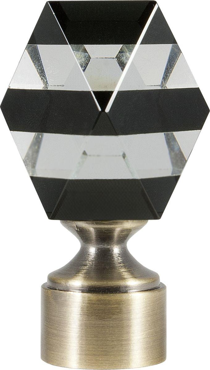 """Наконечник для карниза Уют """"Карамель"""" 26.21ТО.3470, бронза, диаметр 25 см, 2 шт"""