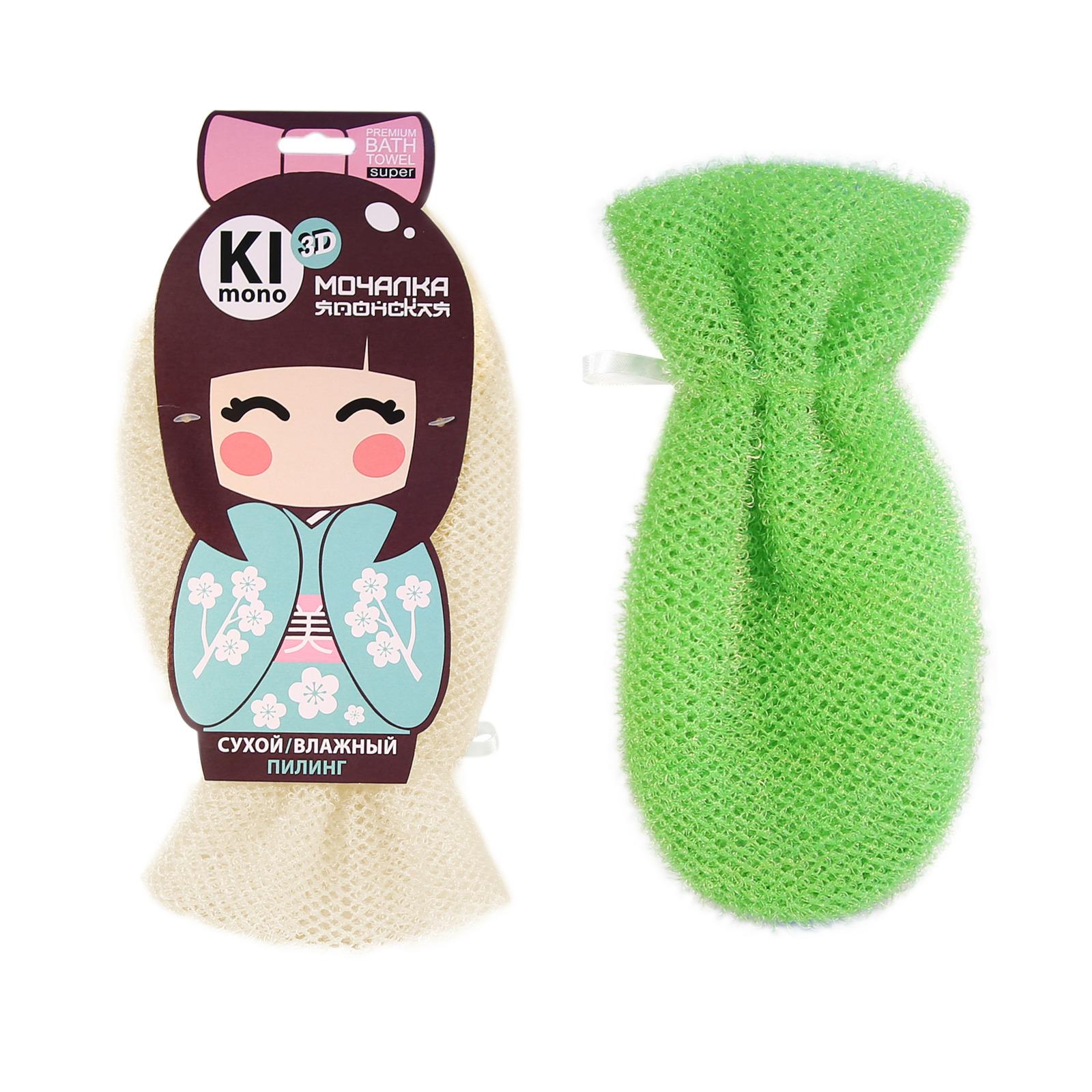 Мочалка Eva Kimono 3D. Рукавица Пилинг, М4902, цвет в ассортименте, 27 х 14 смМ4902Оригинальная позиция для ценителей Японских мочалок. Мочалка-рукавица, средней степени жёсткости, выполнена из уникального нейлонового крупноячеистого 3D полотна. Идеальна как для сухого пилинга тела, так и для традиционного очищения тела с водой и мылом. Удобно фиксируется на руке, благодаря фактуре быстро сохнет. Японская мочалка-рукавица идеальный помощник в борьбе с целлюлитом, просто наденьте её на руку и с помощью самомассажа проработайте все проблемные зоны тела, регулируя силу нажатия и тем самым контролируя скрабирующий эффект. Результат: свежая, упругая кожа без неровностей.Уважаемые клиенты!Обращаем ваше внимание на то, что товар в цветовом ассортименте. Поставка осуществляется в зависимости от наличия на складе.