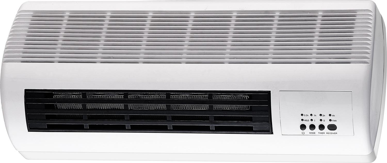 Тепловентилятор WWQ ТВ-25W, настенный, керамический, белый