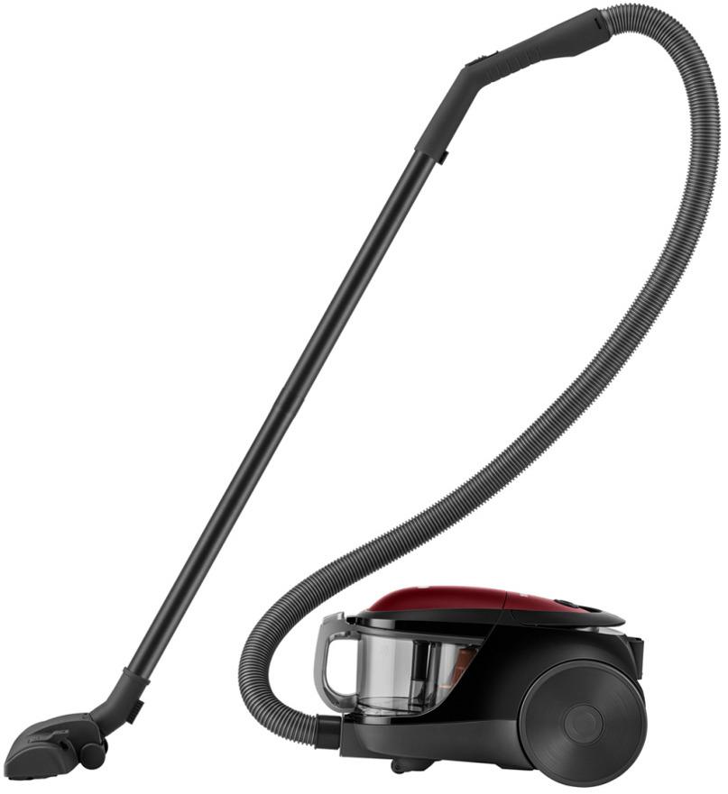 Бытовой пылесос LG MK-Lite Non-Komp, VK76A06NDRP, Sparkle RedVK76A06NDRPMK-Lite Non-Komp, 1600Вт/350Вт, Кнопка Вкл/Выкл на корпусе, HEPA 11 фильтр, трубка Dual Pipe, Sparkle Red Рекомендуем!