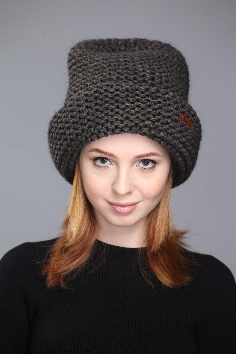 Шапка женская Burel Skovde, цвет: черный. 017013/09. Размер 56/58017013/09