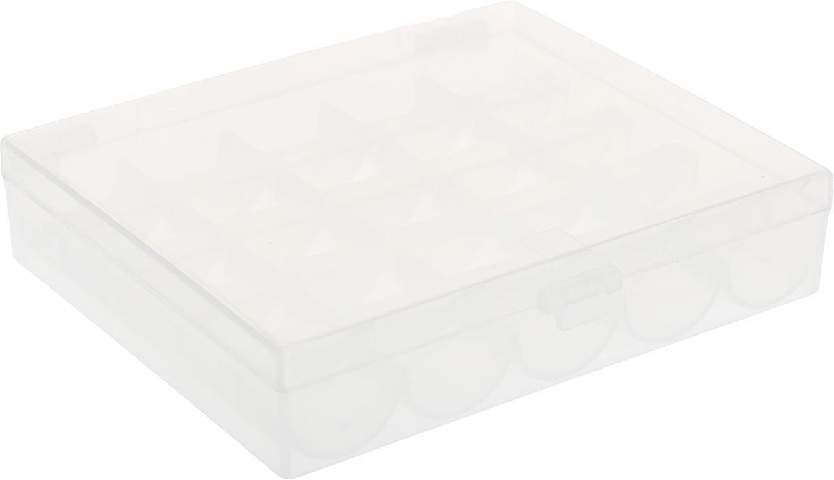 930100 Контейнер для хранения 25 шпулек контейнер для мелочей hobby