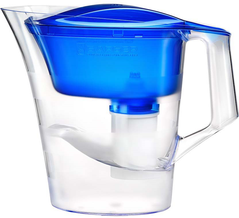 Фильтр-кувшин Барьер Твист, В171Р00, синий фильтр кувшин для воды барьер твист для детей 4