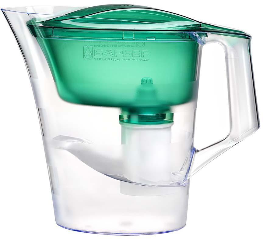 Фильтр-кувшин Барьер Твист, В172Р00, зеленый фильтр кувшин для воды барьер твист для детей 4