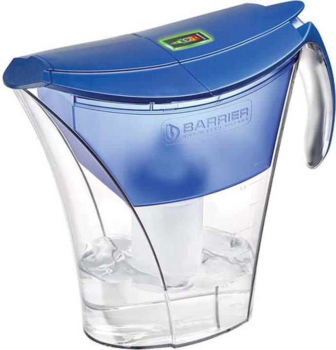 Фильтр-кувшин Барьер Смарт Opti-Light, В381Р60, синий цена