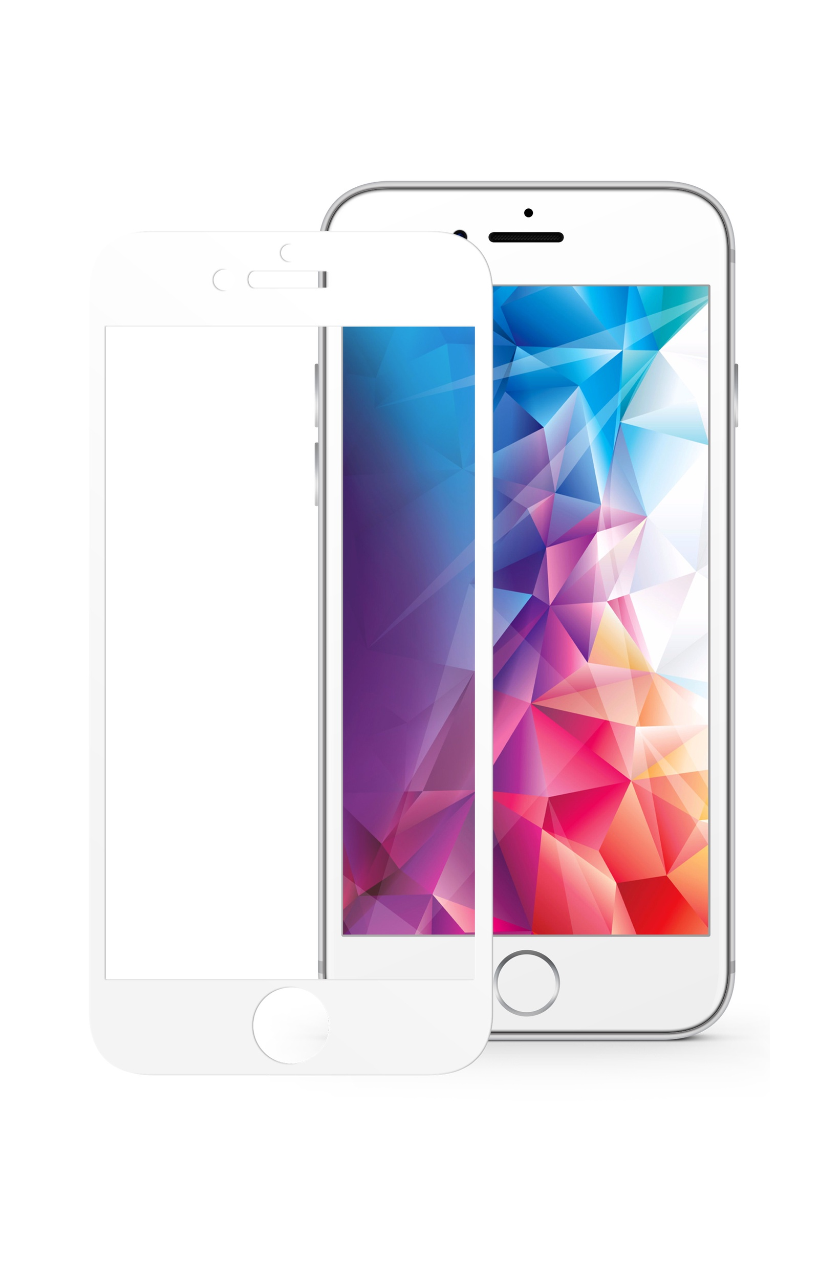 Защитное стекло Mobius Apple iPhone 6 Plus/6S Plus, белый