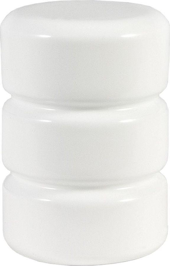 Наконечник для карниза Уют Цилиндр-2 22.21ТО.0204, белый, диаметр 20 см, 2 шт наконечник для карниза уют цилиндр 2 26 21то 0221 шампань диаметр 25 см 2 шт