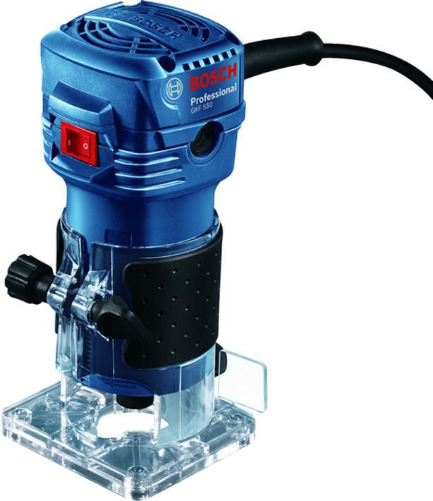 Фрезерная машина Bosch GKF 550, 06016A0020, синий фрезер bosch gkf 600