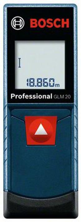 Дальномер Bosch GLM 20, 0601072E00, синий