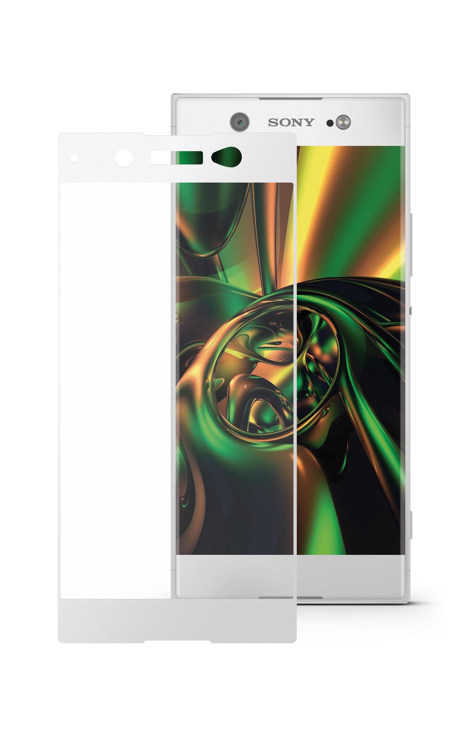 Защитное стекло Mobius для Sony Xperia XA1 Ultra 3D Full Cover (White)