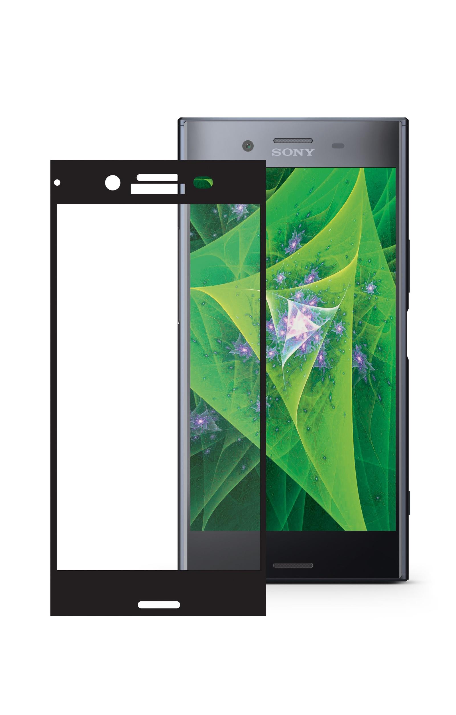 Защитное стекло Mobius для Sony Xperia XZ Premium 3D Full Cover (Black)
