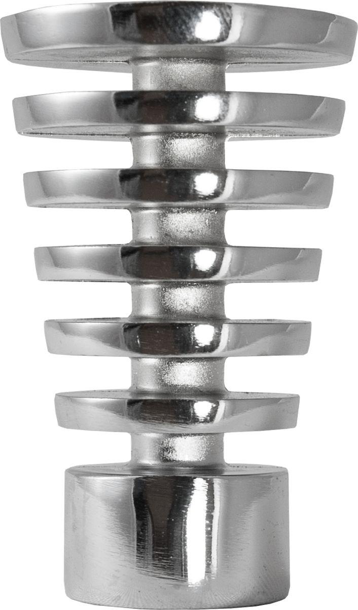 Наконечник для карниза Уют Конус Скан 26.21ТО.2309, хром, диаметр 25 см, 2 шт наконечник для карниза уют конус скан 26 21то 2302 шоколад диаметр 25 см 2 шт