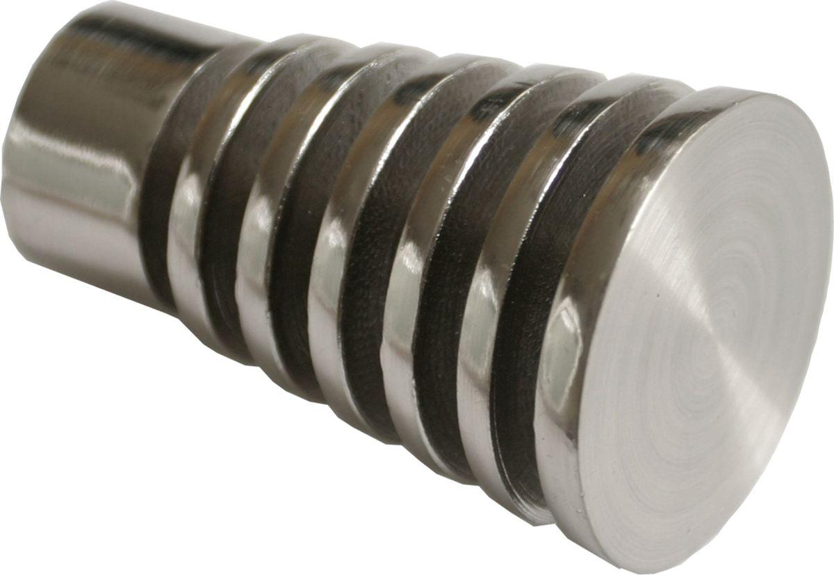 Наконечник для карниза Уют Конус Скан 26.21ТО.2308, сталь, диаметр 25 см, 2 шт наконечник для карниза уют конус скан 26 21то 2302 шоколад диаметр 25 см 2 шт