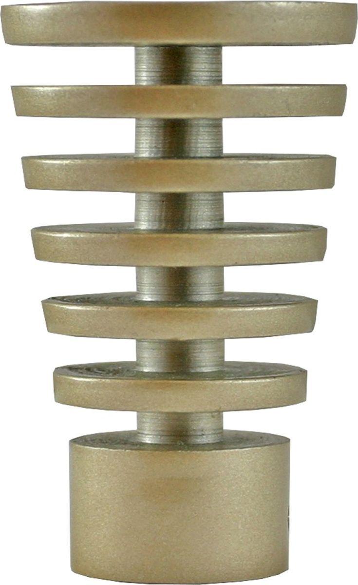 Наконечник для карниза Уют Конус Скан 17.21ТО.2321, шампань, диаметр 16 см, 2 шт наконечник для карниза уют конус скан 26 21то 2302 шоколад диаметр 25 см 2 шт