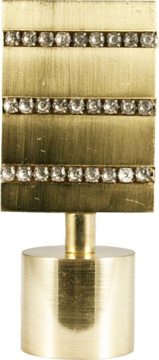 """Наконечник для карниза Уют """"Домино"""" 26.21ТО.3200, латунь, диаметр 25 см, 2 шт"""