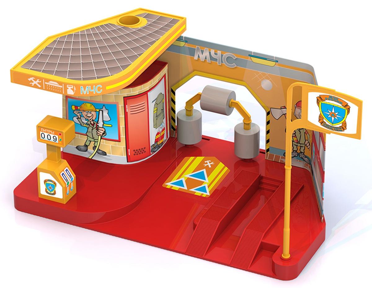 Игровой набор Нордпласт Ремзона МЧС, 431216/ игровой набор klein автосервис bosch с машиной для сборки
