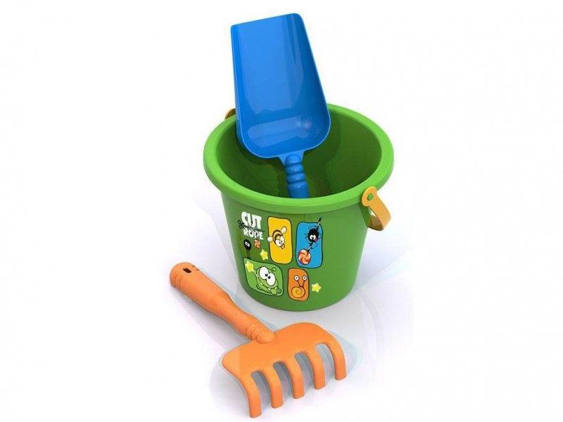 Набор для песка Нордпласт Ам Ням №3 431822, зеленый, оранжевый, голубой thinkwaytoys набор для песка ам ням 2 431821 thinkwaytoys