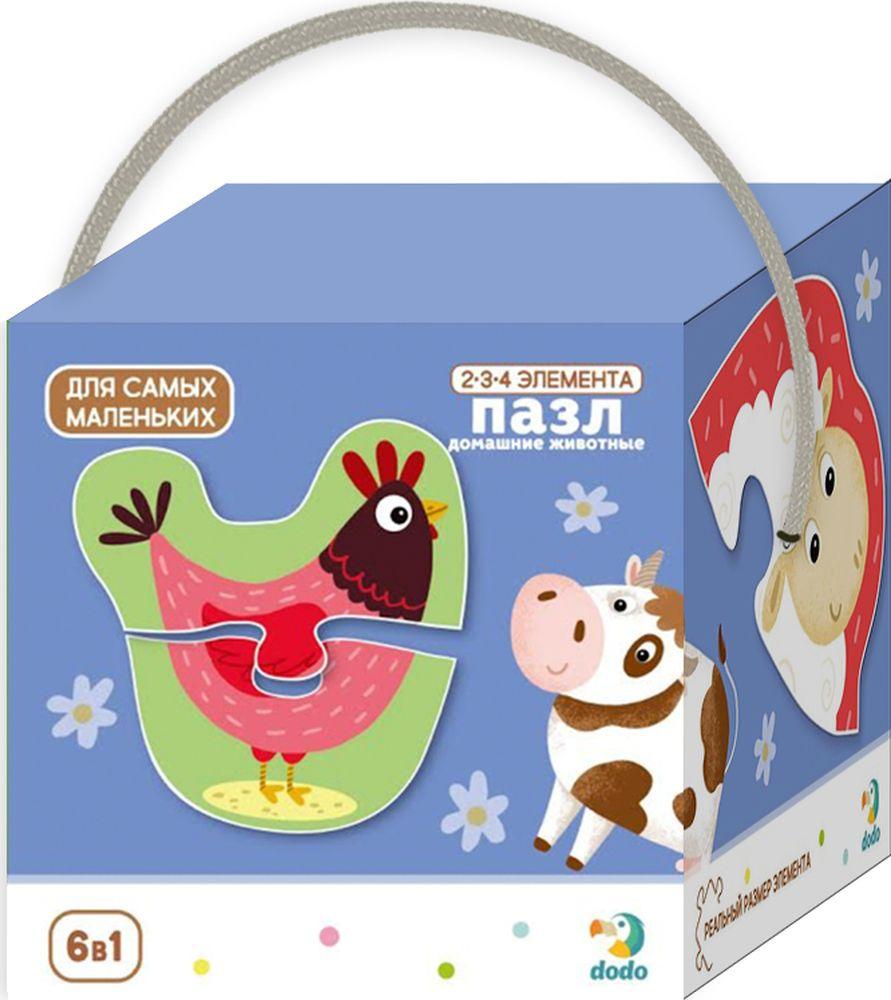 Пазл для малышей Dodo Домашние животные, R300152 пазл для малышей dodo 4в1 времена года