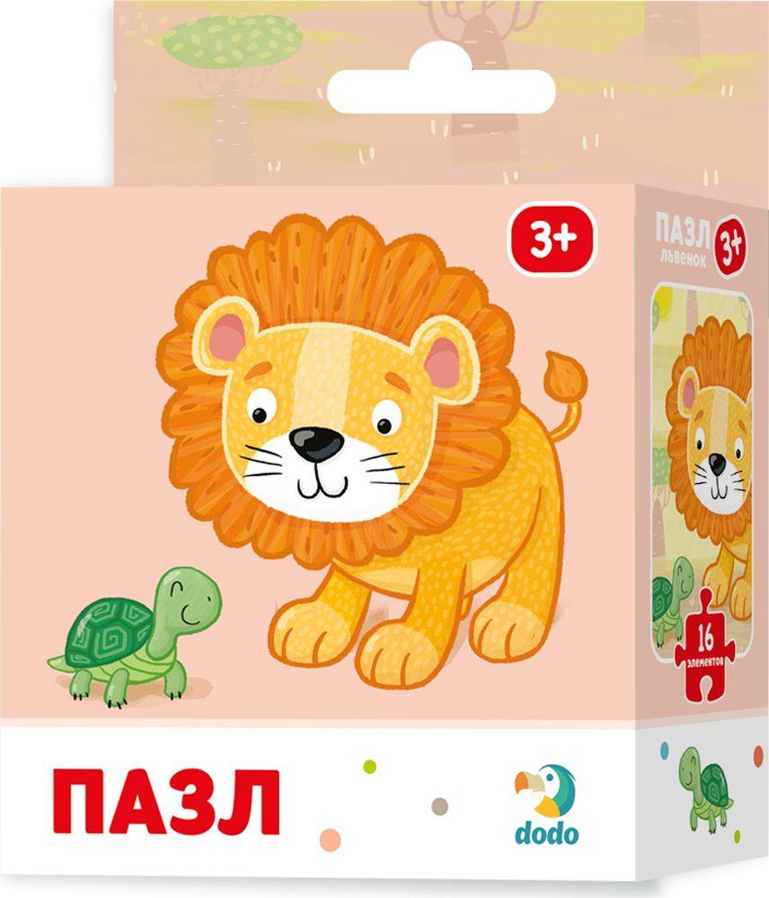 Пазл для малышей Dodo Львенок, R300165 пазл для малышей dodo 4в1 времена года